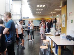 Lange Nacht der Wissenschaften 2018 in der Beuth Hochschule für Technik. Foto: Hensel