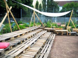 Das Himmelbeet ist mehr als eine Garten. Am 21. Juni wird es zum Musik-Garten. Foto: Hensel