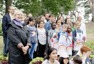 Gruppenbild der Preisträger mit Stadträtin Sabine Weißler (links). Foto: A. Schnell