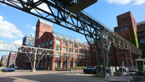 Rundblick Fabrikgebäude AEG