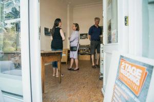 Ausstellung im Atelier von Marion Ehrsam. Foto: Patrick Albertini