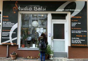 Unter anderem ein Yogastudio - das Studio Balu