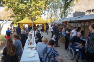 Herbstfest in der Grüntaler Promenade. Foto: gruppe F