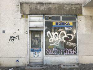 Einer der vielen leerstehenden Läden rund um die Müllerstraße (c) Foto von Susanne Haun