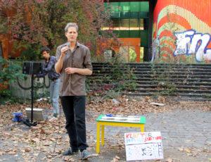 Oliver Clemens von der Initiative pswedding. Foto: Hensel