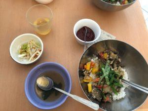 Das koreanische Mittagsmenü