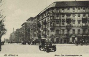 historische Reinickendorfer Straße