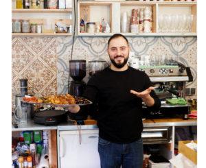 Green Fresh Falafel Besitzer Ali Aba Torab