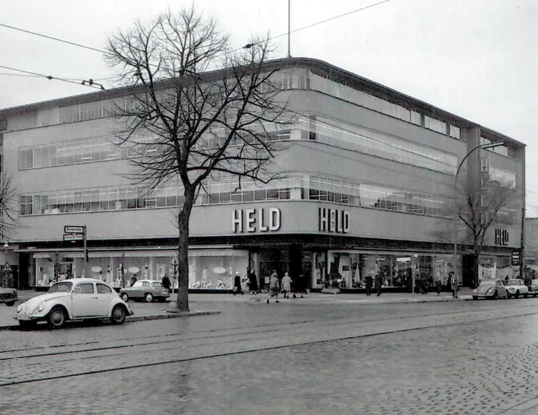 Das Kaufhaus Held in der den 1970er Jahren. Foto: Sammlung Ralf Schmiedecke