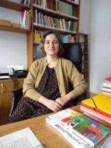 Costanza Orlandi, Besitzerin der Sprachschule Puntolingua, Foto von Susanne Haun