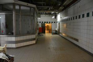 Ehemaliges Krematorium Wedding - silent green Kulturquartier unterirdische Parentationshalle (c) Foto 2016 von M.Fanke