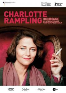 Charlotte Rampling ist bei der 69. Berlinale 2019 eine Hommage gewidmet. Plakat: Berlinale