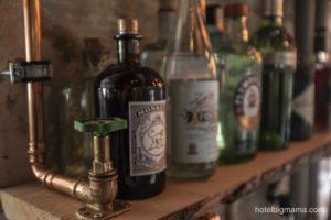Ginflaschen