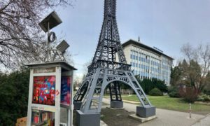 Ein kleiner Eiffelturm