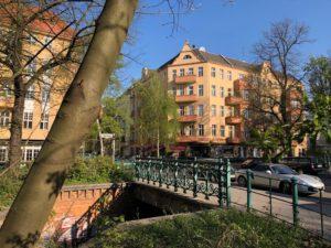 Uferstraße Schönstedtbrücke Martin Opitz Straße