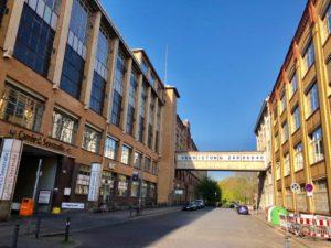 Fabrikgebäude Oudenarder Straße und Osramhöfe