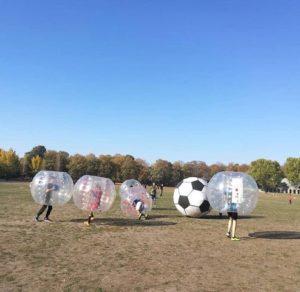 Bubble Fußballspieler