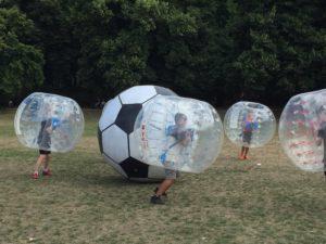 Bubble Fußballspiel