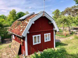 Schwedenhaus in der Gartenarbeitsschule Wedding