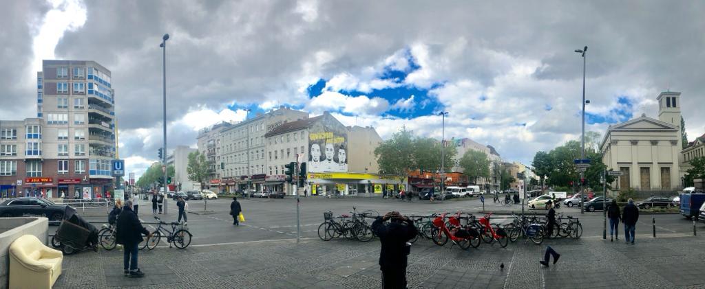 Panorama Prinzenallee Pankstraße St. Paulskirche