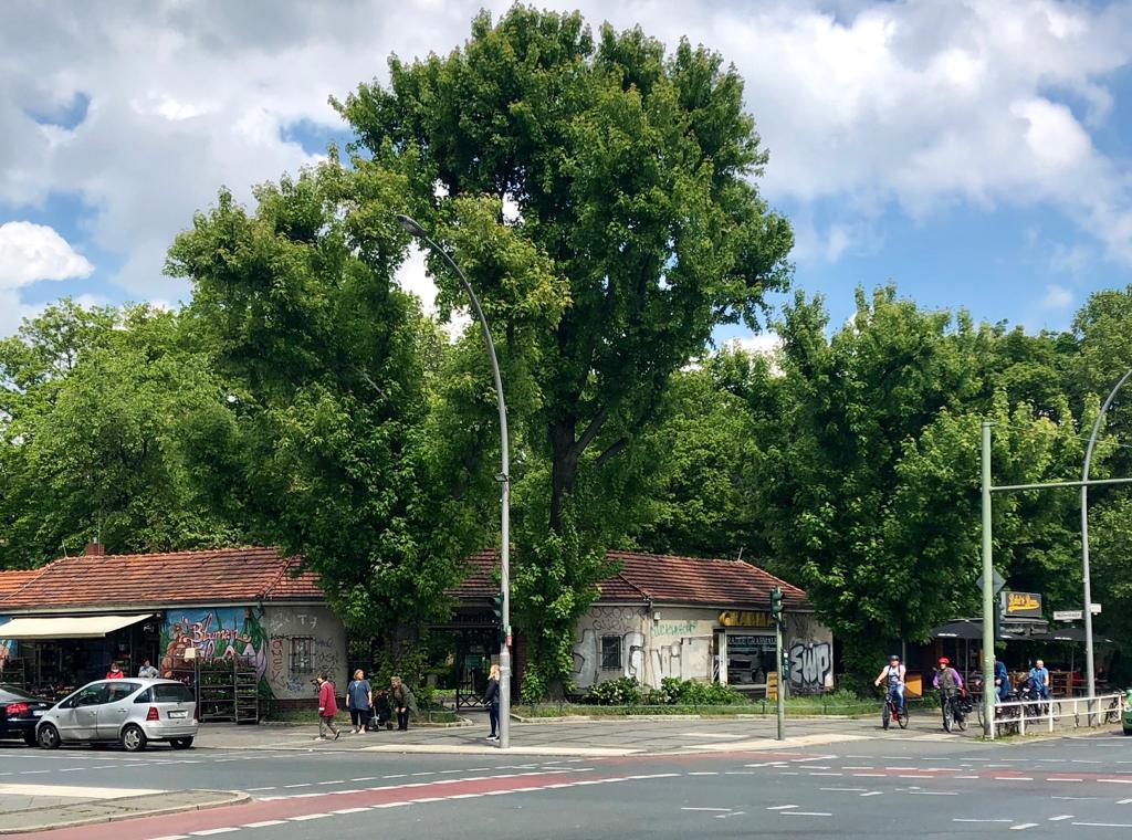 Eine Straßenecke