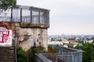 Blick auf den Flakturm