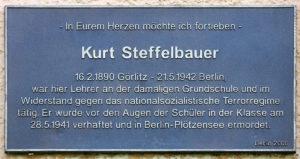 Gedenktafel Kurt Steffelbauer