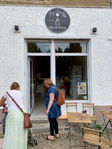 Eisdiele in de Grüntaler Straße - Foto: S. Orsenne
