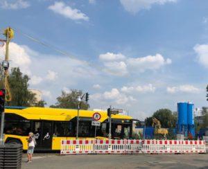 Bus 142 Lynarstr Ecke Tegeler Straße