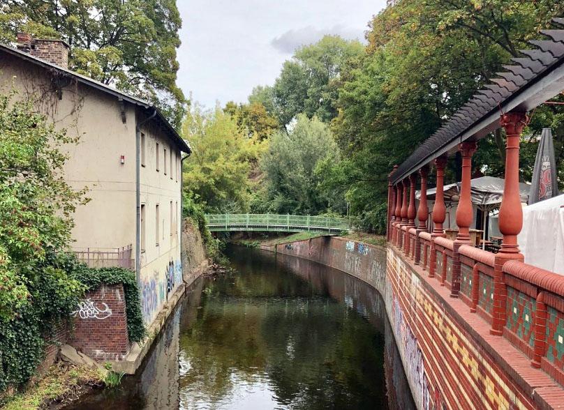 Endpunkt der Brückentour
