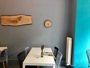 Eine Ecke in einem Café