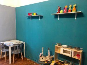 Ein Zimmer voller Spielzeug