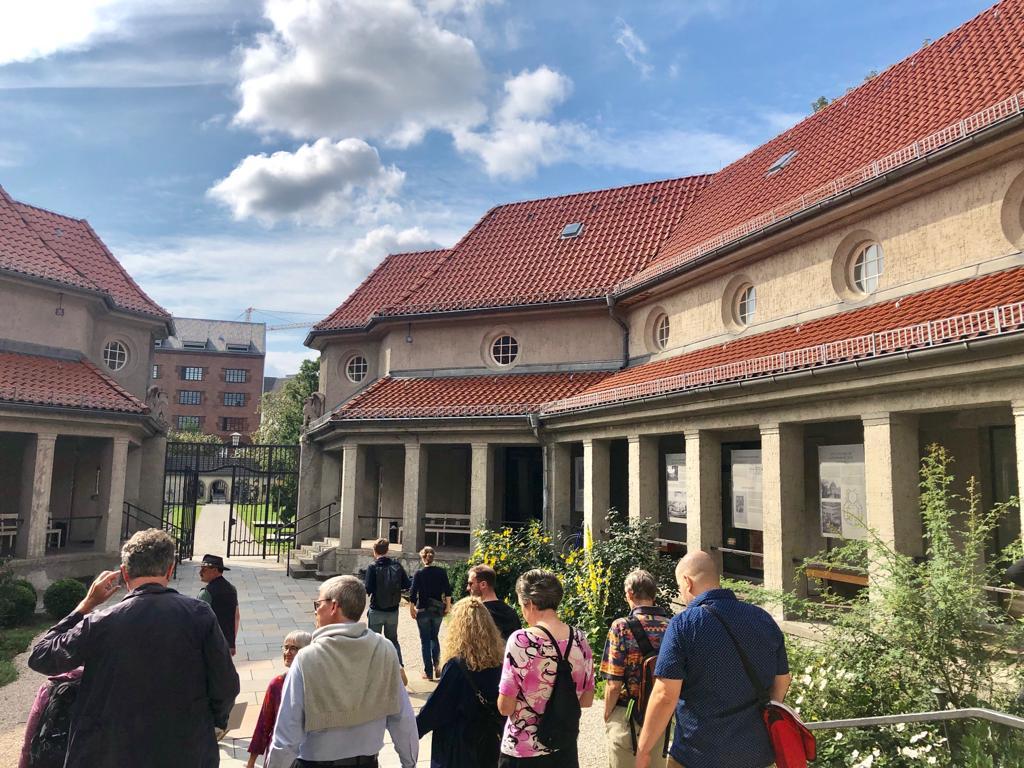 Hof des Krematoriums