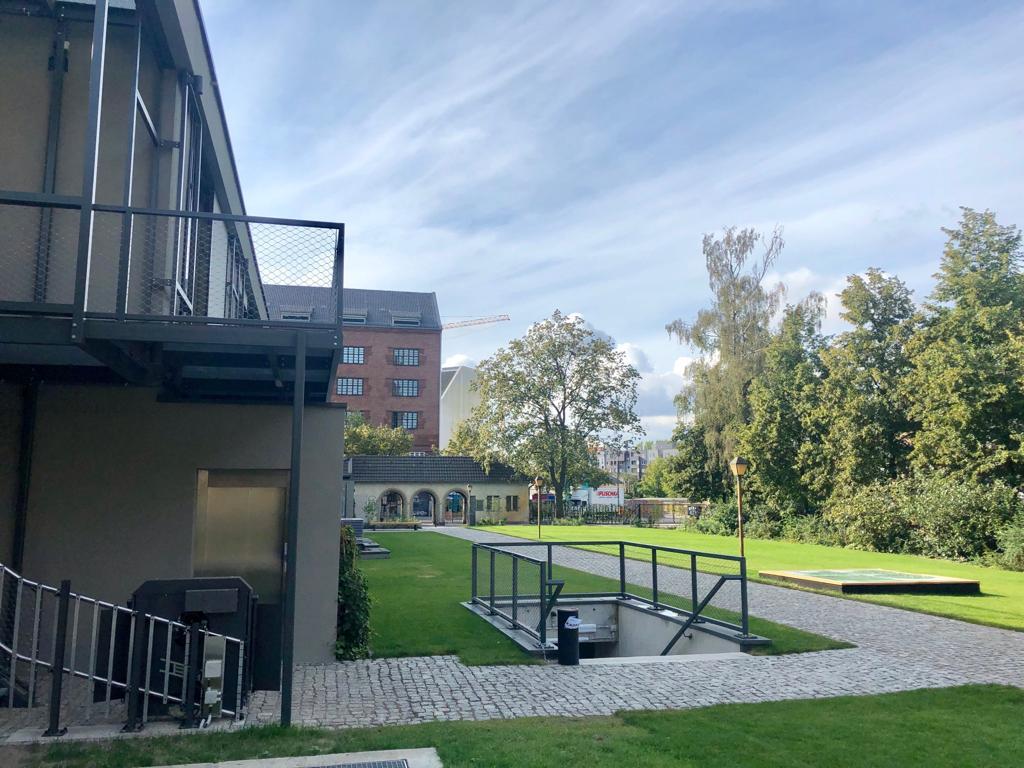 Garten des Krematoriums silent green Kulturquartier