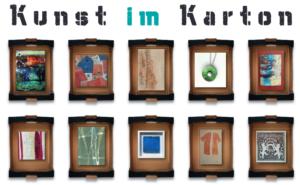 Kunst im Karton - Plakat
