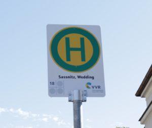 Haltestelle Sassnitz Wedding