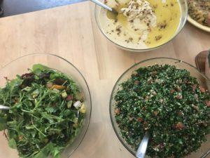Hummus Salat Petersiliensalat