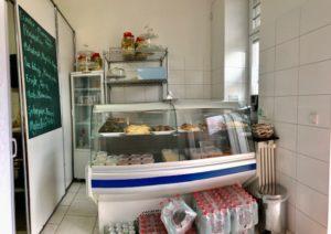 Der Verkaufsraum bei Maide Manti
