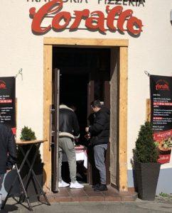 Essen zum Mitnehmen im Brüsseler Kiez