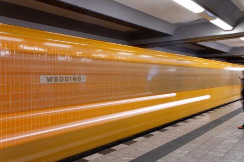 U-Bahnhof Wedding orange