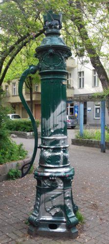 Straßenbrunnen Foto Ute Pothmann