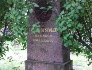 Grabmal eines Stenografen