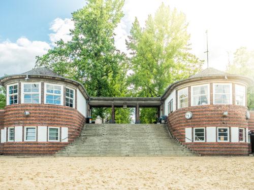 Zwillingsgebäude Strandbad Plötzensee