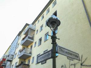 Gropiusstraße Thurneysserstraße Straßenschild Straßenname