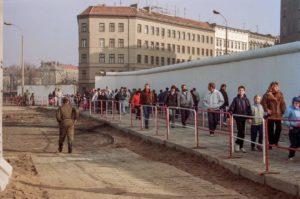 Grenzöffnung, später Deutsche Einheit