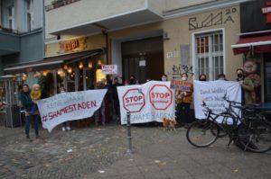 Protest gegen Heimstaden