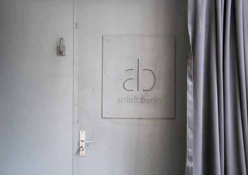 Tür des artloft.berlin