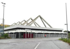Eishalle im Erika-Hess-Eisstadion