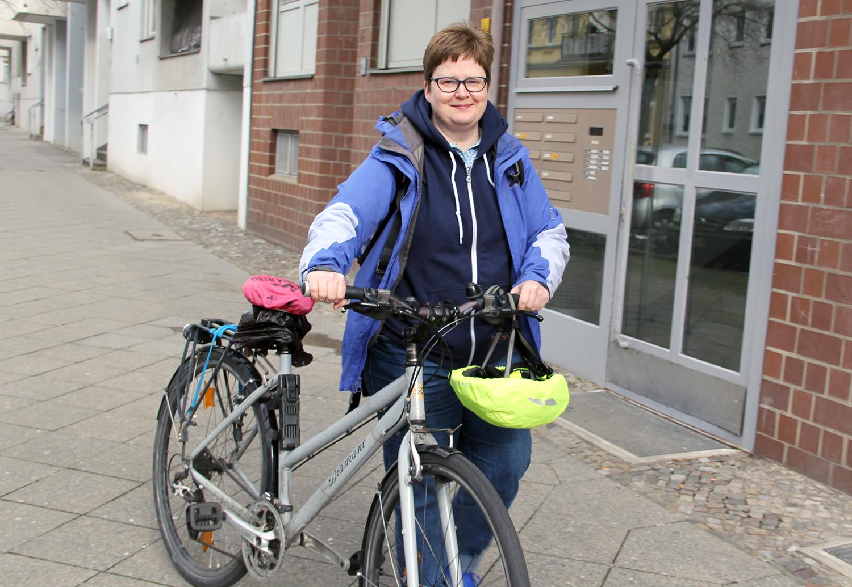 Kiezsportlotsin Susanne Bürger