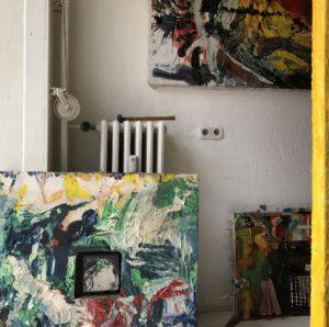 Atelier in der Bellermannstraße